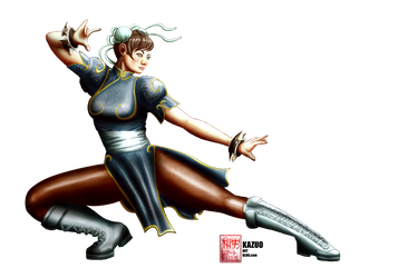 Chun-Li by Kazuo by Kazuo-O85