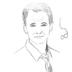 Barney Stinson Sketch By 0warmaker0 On Deviantart