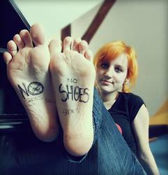 NO SHOES by ChrissieGC