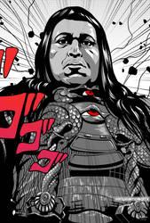 Black Villains: inktober#3 - Thulsa DOOM by Sokartis
