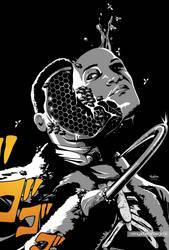 Black Villains: inktober#4 - Candy Man by Sokartis