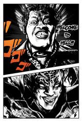 Black Villains: inktober#5 - Mr. Simms by Sokartis