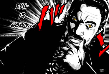 Black Villains: #inktober7 - Maximiian by Sokartis