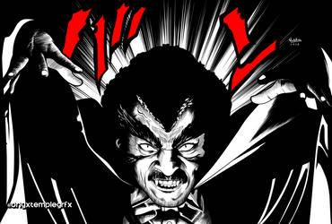Black Villains: #inktober8 - Prince Mamuwalde by Sokartis