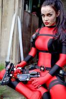 Lady Deadpool: ONE by shivjam