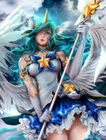 Soraka Star Guardian by Laurart88