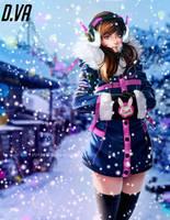 D.VA Christmas holidays by Laurart88