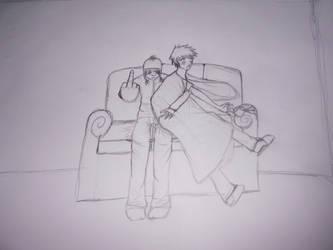 redraw sketch by ninja-freak13