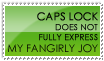 Fangirly Joy Stamp -- Green by burnoutbright