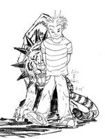 Calvin Hobbes sketch by rwolf