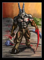 Death Bringer by rwolf