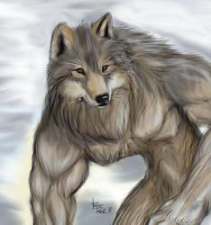 Harmonious Wolf by rwolf
