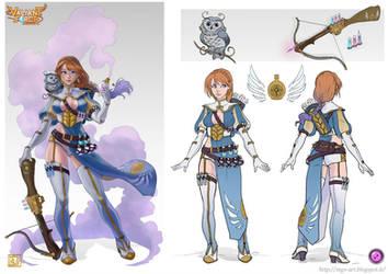 Valiant Force Entry - Sofia The Alchemist by LadyDeddelit