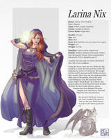 Commission 74 Larina part 2 by LadyDeddelit
