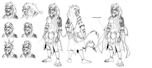 Leeuwuk - First Concept by Manuxd789