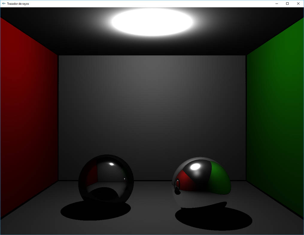 Ray Tracer by Manuxd789