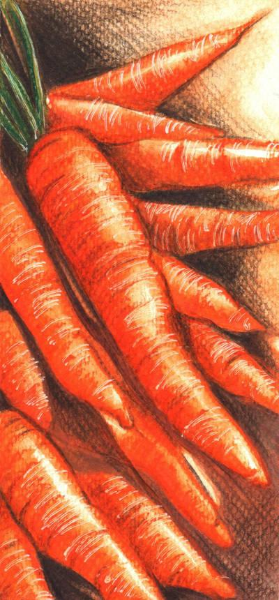 Life is like a carrot by JoanCzyk