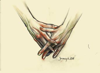 Hands by JoanCzyk