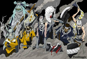 Naruto Shippuden - Kirigakure no sato by Doton-Element