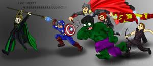 Avengers Assemble by Phantom-Panda