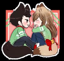 Holiday Comm: BloodyOkami by bakaqeyama