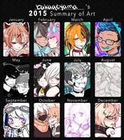 2015 Summary of Art by bakaqeyama