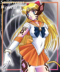 Sailor Venus Werecat by AlexanderDario
