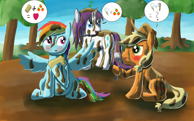 After the mud by Tikini