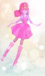 Princess Bubblegum by mollyn