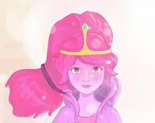 Princess Bubblegum [close-up] by mollyn