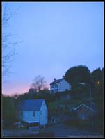 Llanbadarn Fawr - Twilight by eeron