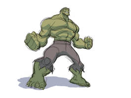 Hulk Rough by Samuca