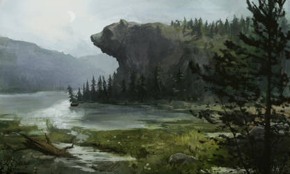 Karhuvuori by laurahaapamaki