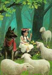 Princess Katarina of the Backyard Kingdom by laurahaapamaki
