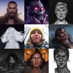 ART VS ARTIST by remplica