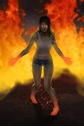 I am fire I am death by remplica