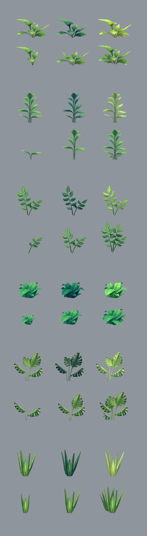 Plants design by remplica