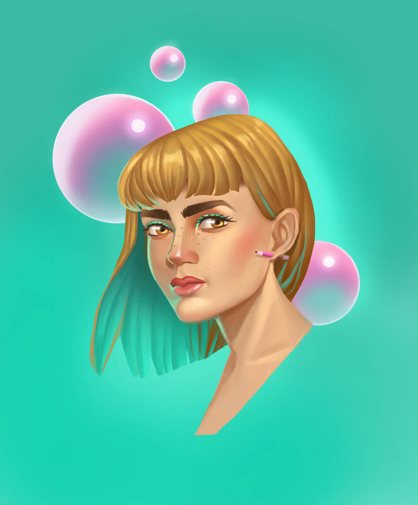 Bubblegum by remplica