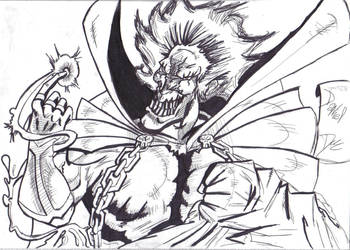 The Joker is SPAWN by benzaie