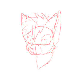 Dog Headshot Sketch  by how2101
