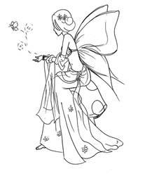 Butterfly Fairy by LadyDragonart