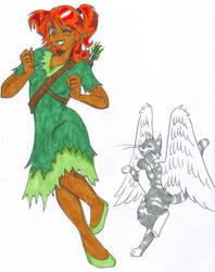 Kiela and Akasha by KittyHMommy