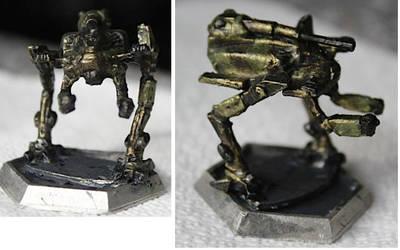 Battletech Hussar Paintjob by KittyHMommy