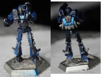 Battletech Shadowhawk new model paintjob by KittyHMommy