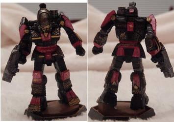 Battletech Battlemaster Red by KittyHMommy