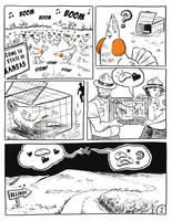 Prairie Chicken's Big Move Page 1 by orinocou