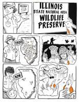 Prairie Chicken's Big Move Page 3 by orinocou