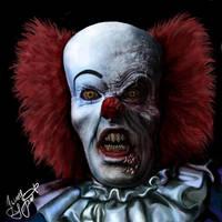 Devil clown Pennywise by Shaytan666
