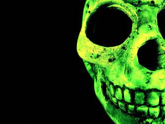 wallpaper skull by kzablanca