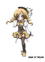 Tomoe Mami - Color by trelliah